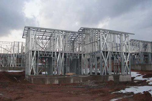Здания на основе облегчённого металлического каркаса в Ульяновске